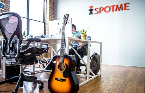 SpotMe Chicago office