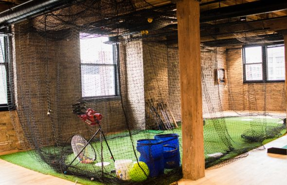 Ansarada batting cages